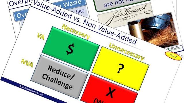Waste Identification Trainer Materials (PPT, SG, Quiz, Exercise, 1xPDF Article)