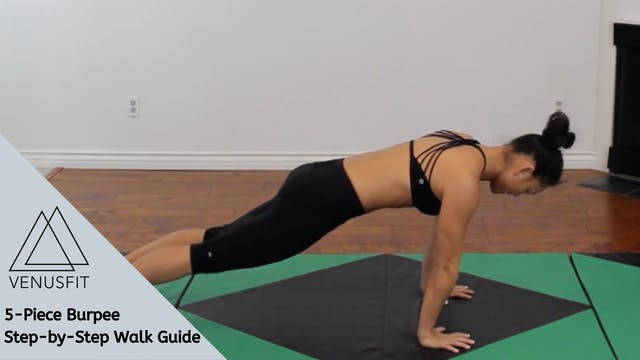 5-Piece Burpee - Step-by-Step