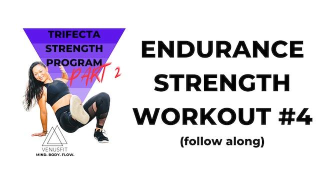 TRIFECTA 2 - Endurance Workout #4 (follow along)