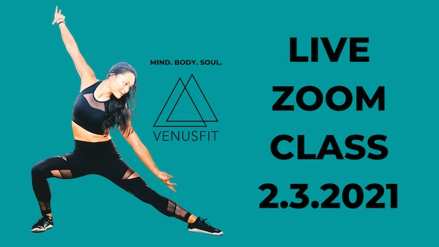 Live Zoom Class - February 3rd, 2021