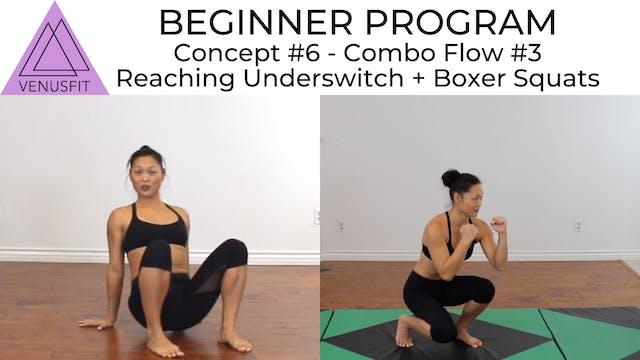 Beginner Program - Concept #6: Combo #3