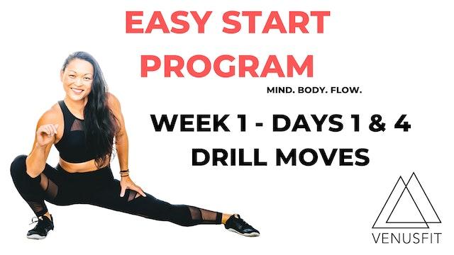 EASY START - Week 1 - Days 1 & 4
