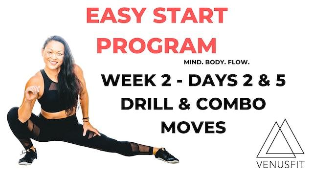 EASY START - Week 2 - Days 2 & 5