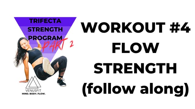 TRIFECTA 2 - Workout #4 - FLOW TUTORIAL (follow-along)