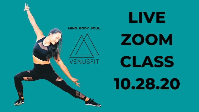 Live Zoom Class - October 28th, 2020