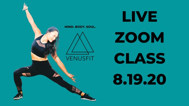 Live Zoom Class - August 19th, 2020