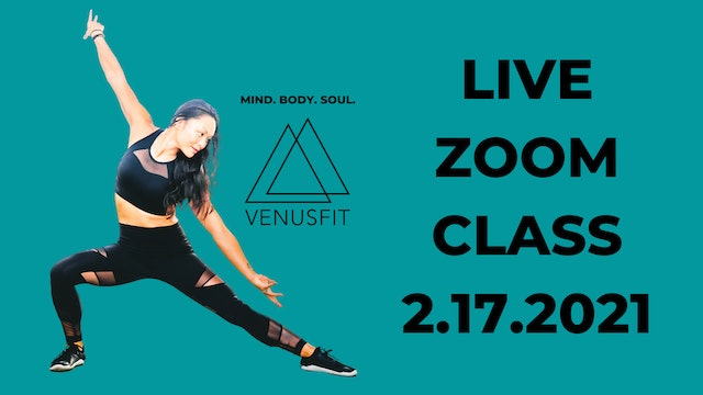 Live Zoom Class - February 17th, 2021