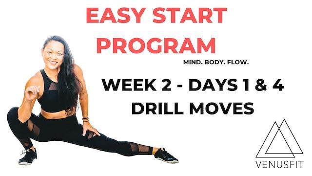 EASY START - Week 2 - Days 1 & 4