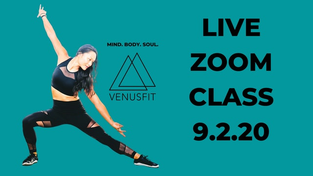 Live Zoom Class - September 2nd, 2020