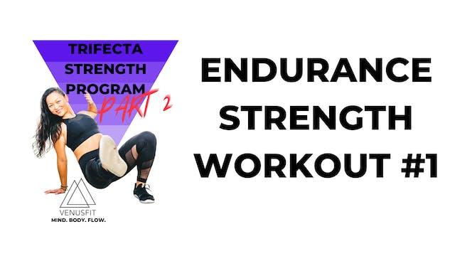 TRIFECTA 2 - Workout #1 - ENDURANCE S...