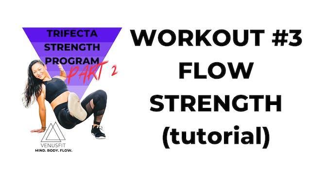 TRIFECTA 2 - Workout #3 - FLOW STRENGTH (tutorial)