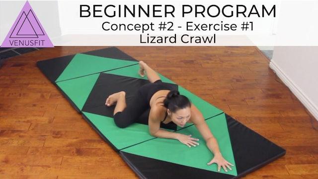Beginner Program - Concept #2: Exercise #1 Lizard Crawl