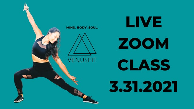 Live Zoom Class - March 31st, 2021