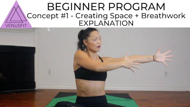 Beginner Concept #1 - CREATING SPACE ...