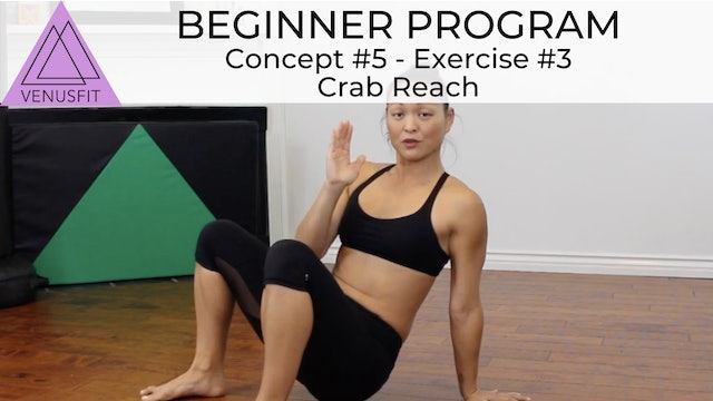 Beginner Program - Concept #5: Exercise #3 - Crab Reach