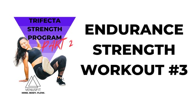 TRIFECTA 2 - Workout #3 - ENDURANCE STRENGTH (follow along)