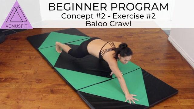 Beginner Program - Concept #2: Exercise #2 Baloo Crawl