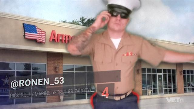 Marine Corps Rick Roll Parody