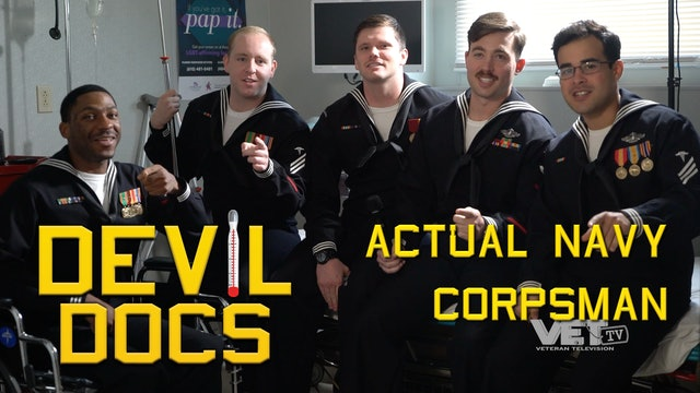 Interview with Real Navy Corpsman | Devil Docs