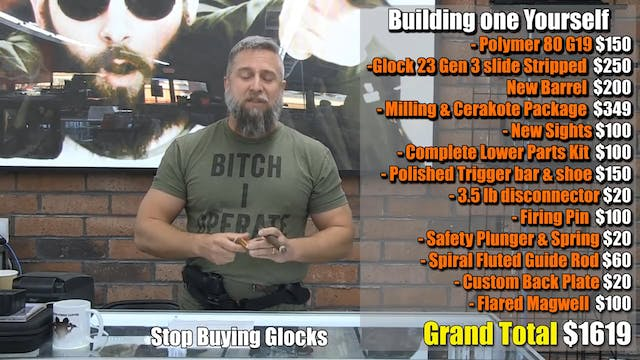 Stop Buying Glocks