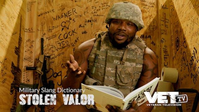 Stolen Valor | Military Slang Dictionary