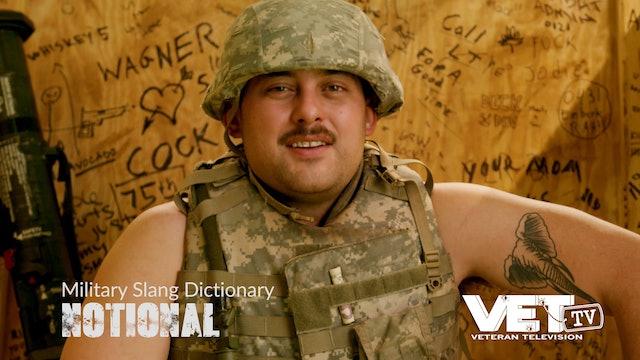 Notional | Military Slang Dictionary