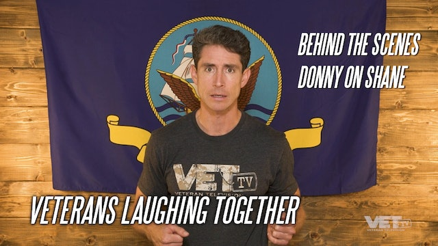 Veterans Laughing Together   Donny on Shane