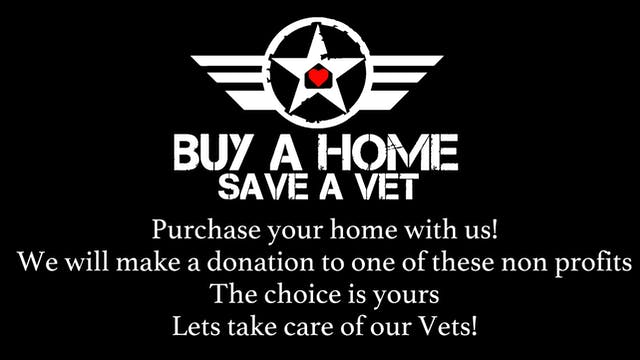 Buy  A Home Save a Vet