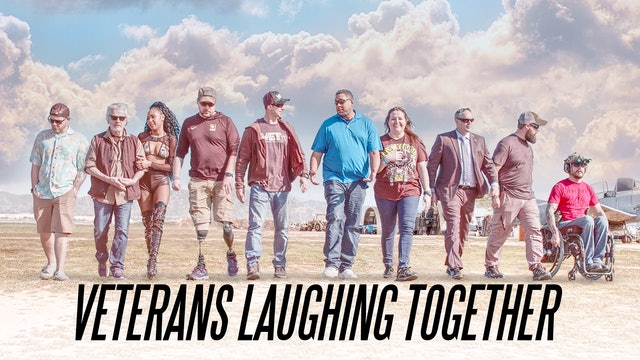 Veterans Laughing Together