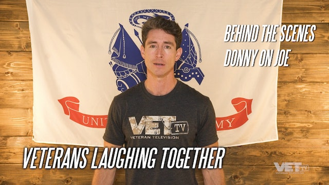 Veterans Laughing Together | Donny on Joseph