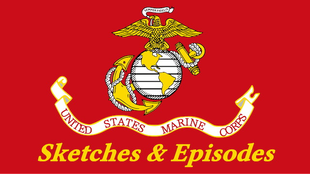 Marine Corps Sketches