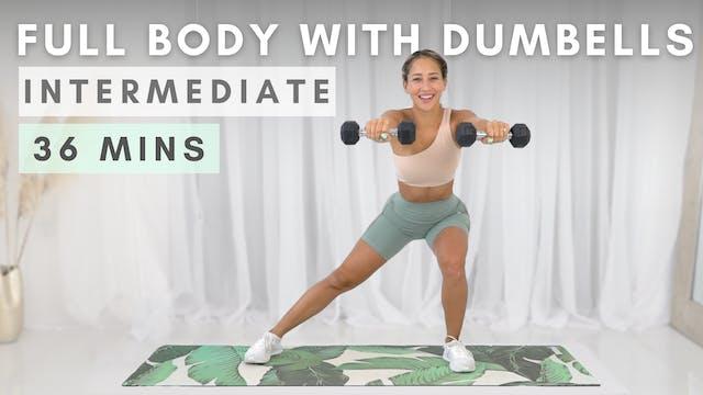 FULL BODY IN 30 | Dumbbell Workout