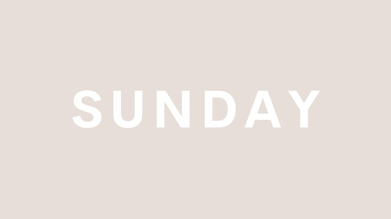 SUNDAY / REST DAY