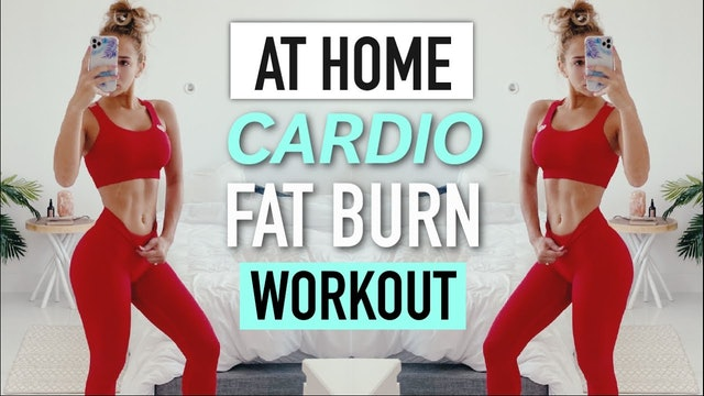 Home HIIT CARDIO Workout - BURN FAT AT HOME