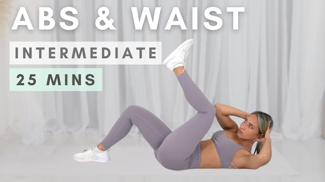 ABS & WAIST WORKOUT / with vacuums