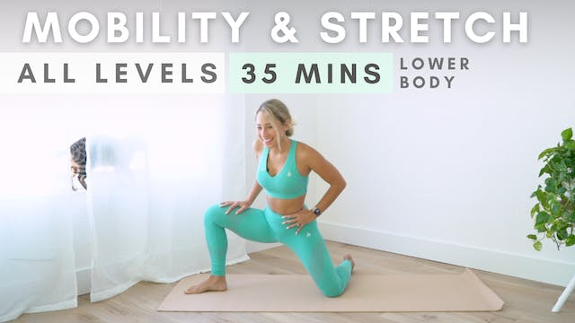 Mobility & Stretch Routine for Lower ...