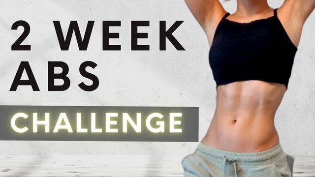 2 WEEK ABS CHALLENGE
