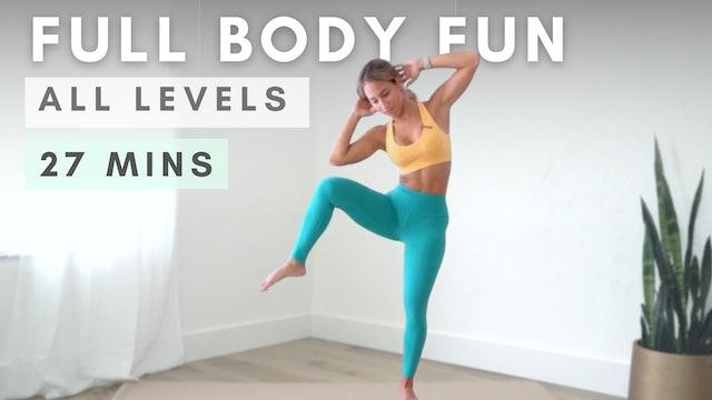 FULL BODY WORKOUT - Beginner Friendly & Low Impact!