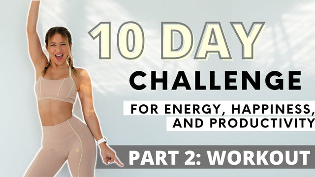 10 DAY MORNING WORKOUT CHALLENGE: Wor...