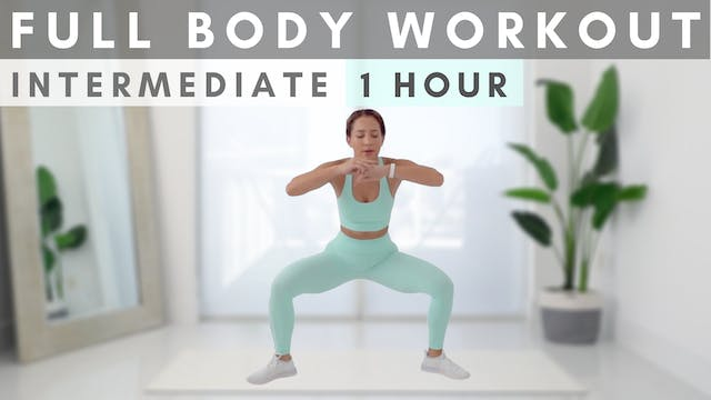 1 HOUR, FULL BODY Workout Class!