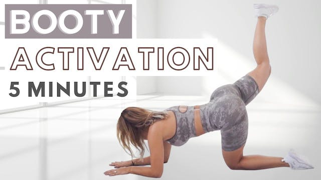 5 MIN GLUTE ACTIVATION WORKOUT... do ...