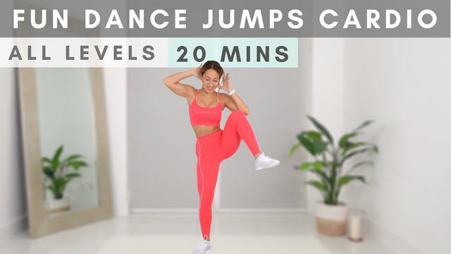 FUN Dance Jumps Cardio for ALL LEVELS