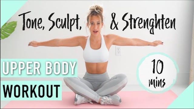 Arm, Shoulder, & Back Workout | HOME ...