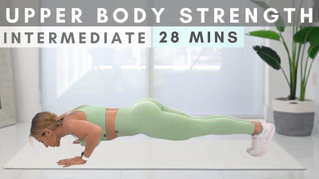 GET STRONGER in 30 mins | Upper Body