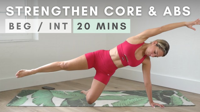 ABS & CORE STRENGTH in 20 mins