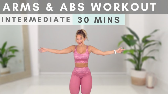 Arms + Abs MASHUP Workout!