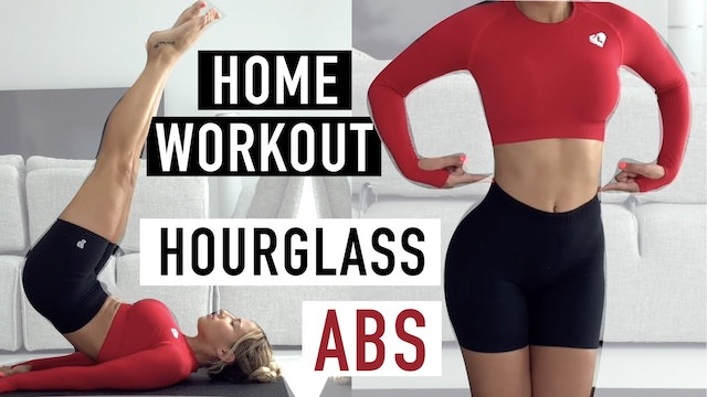 HOURGLASS ABS + WAIST WORKOUT | REPEAT X2