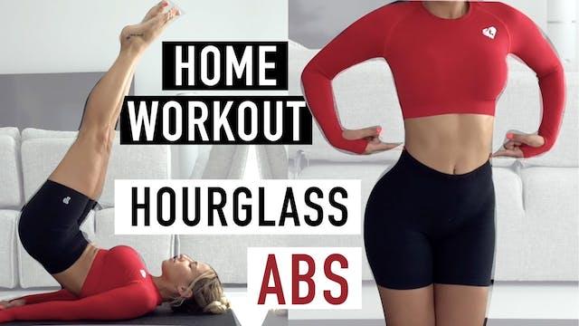 HOURGLASS ABS + WAIST WORKOUT | REPEA...