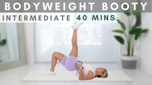 Bodyweight Booty Killer Workout