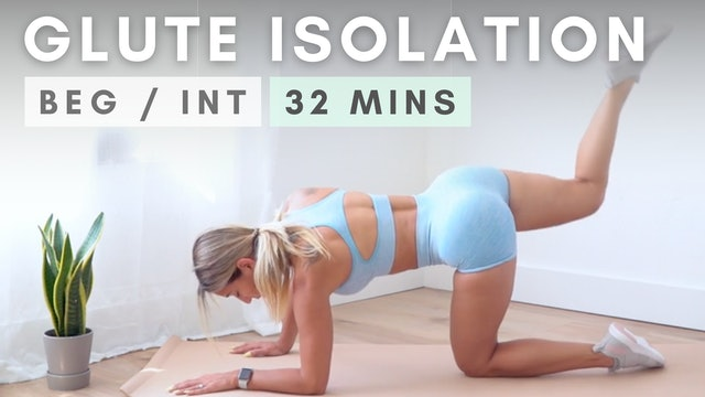 Wake up your GLUTES | Glute Isolation Workout